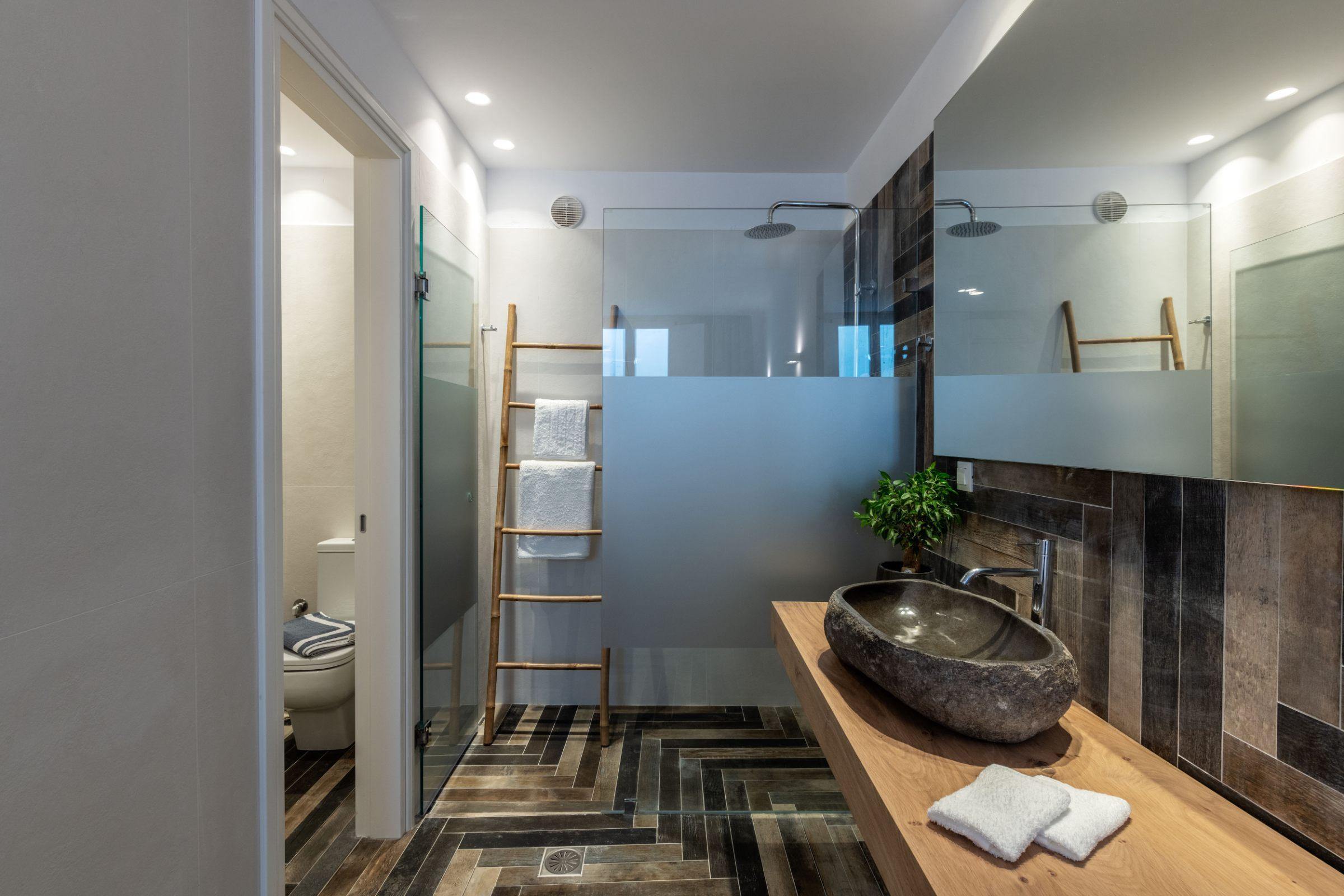 nilaya villa mykonos showers