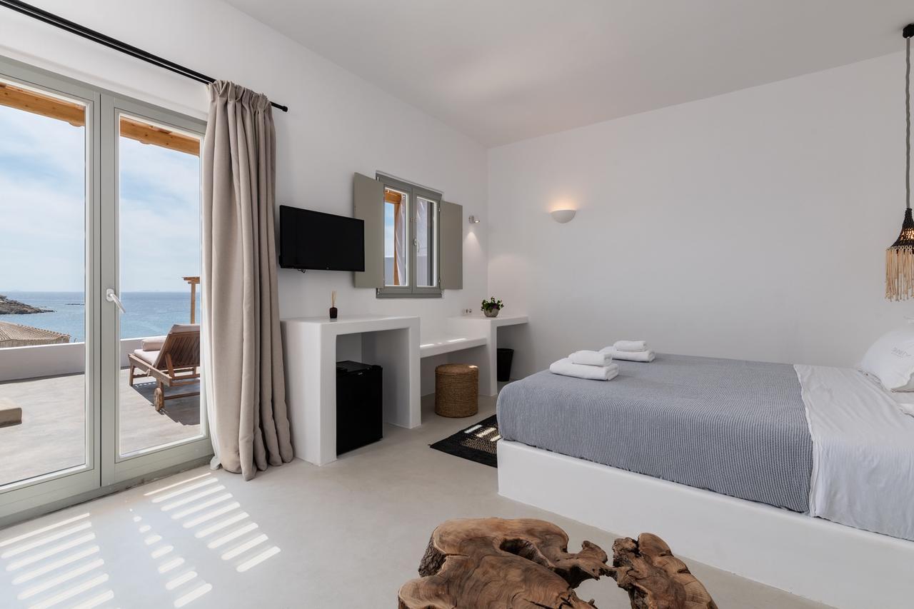 Mykonos Villas platis gialos bedrooms