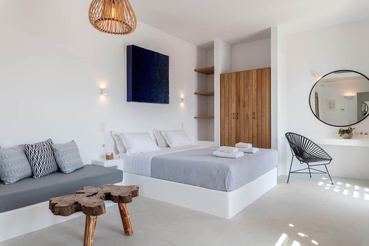 bedrooms en suite villas mykonos