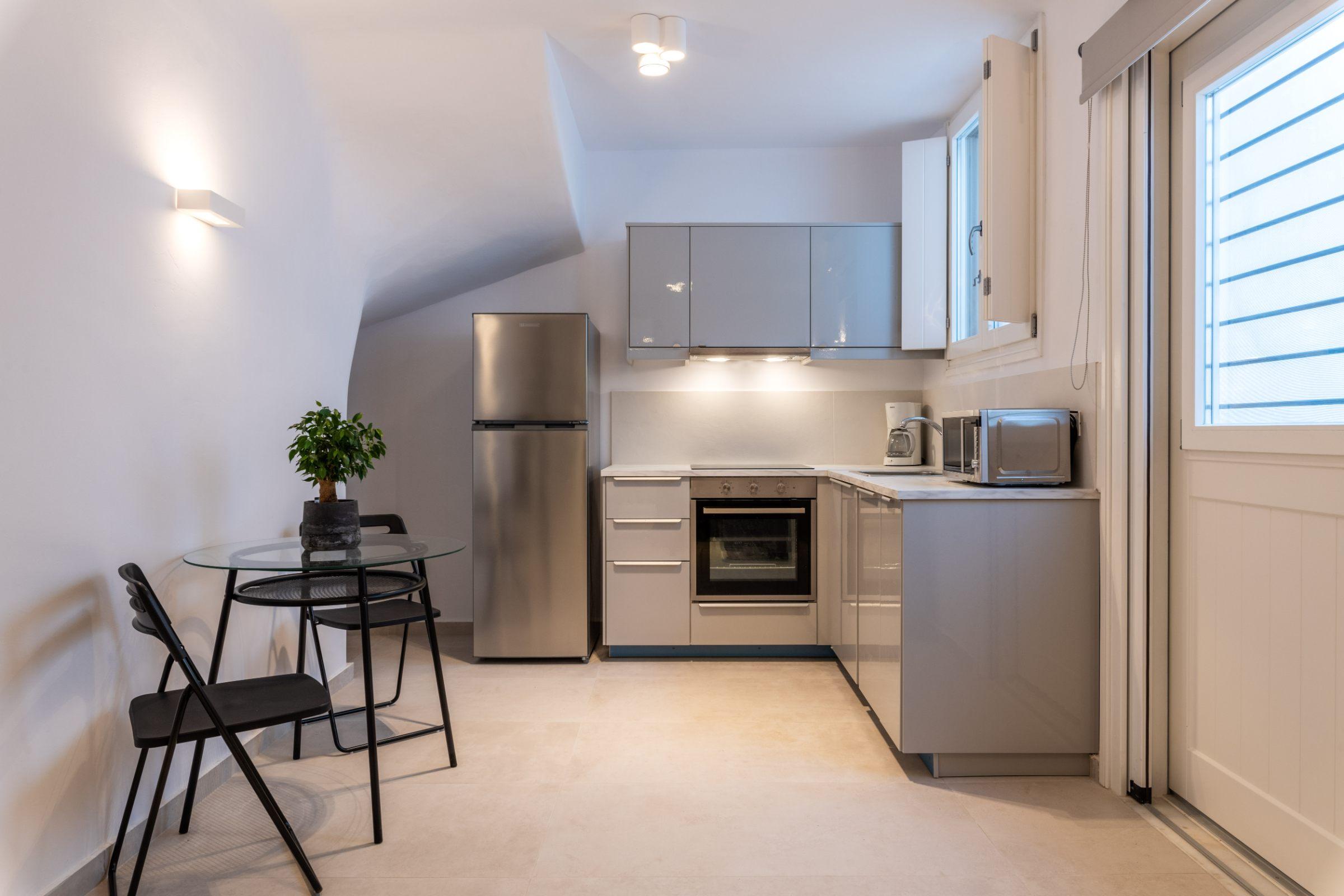 nilaya villa mykonos kitchen