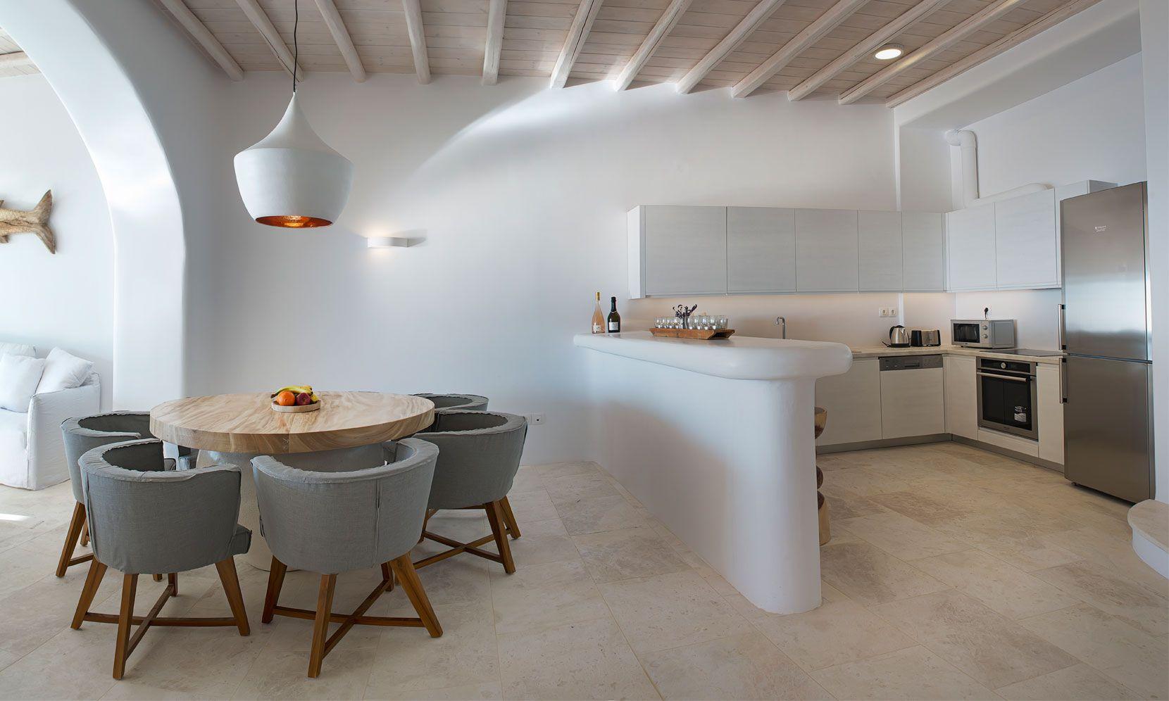 luxury sea view villas mykonos