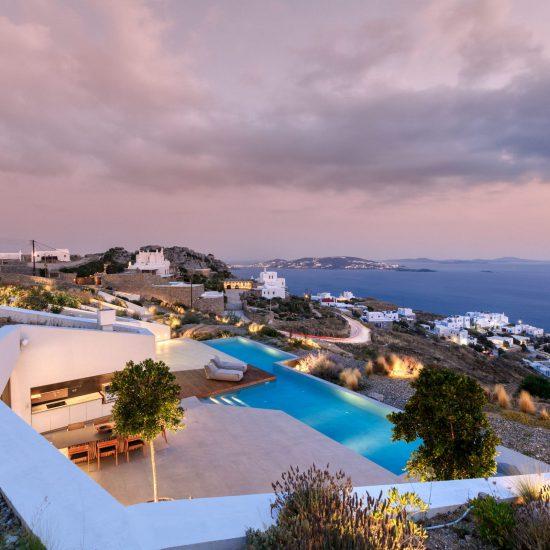 luxury mykonos villas greece