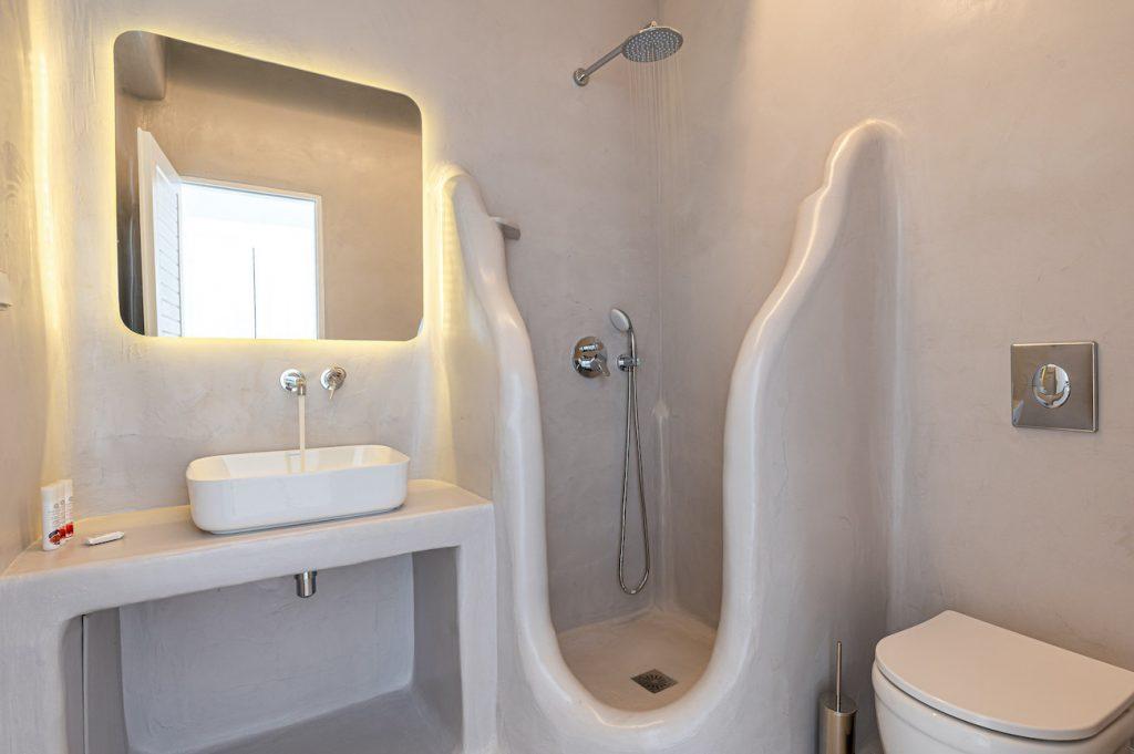 showers ornos villas mykonos